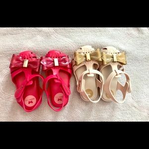 Other - Zaxy Toddler Girl Summer Sandals - 2 pairs